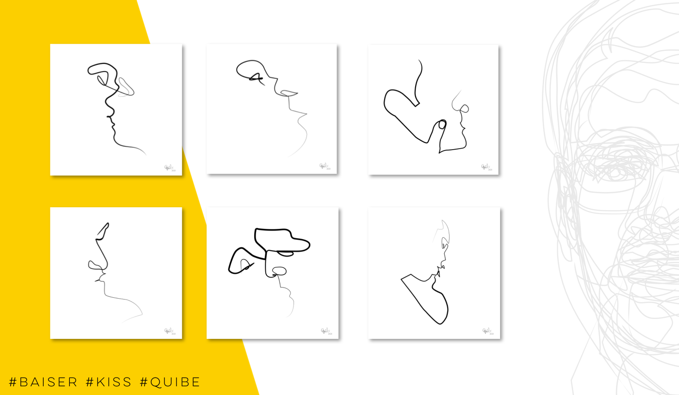Kisses Series by Quibe